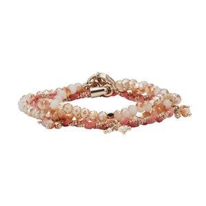 Chloe and Isabel Petalette wrap bracelet